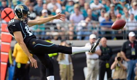 The Jaguars chose to punt scoring this year. Shockingly, this strategy hasn't paid off yet.